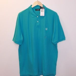 👕 NEW! Blue Polo Shirt by Chaps 👕